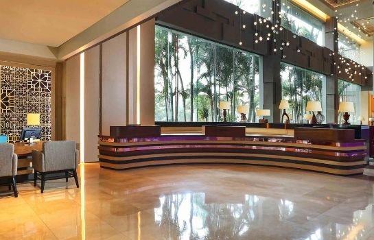 Reception Grand Mercure Maha Cipta Medan Angkasa