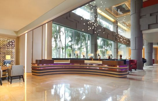 Vista all'interno Grand Mercure Maha Cipta Medan Angkasa