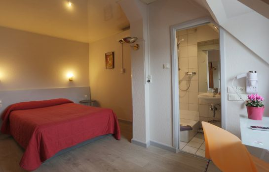 Doppelzimmer Standard Mulhouse  Hôtel Salvator The Originals City (ex Inter-Hotel)