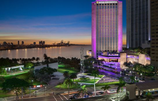 Exterior view InterContinental Hotels MIAMI