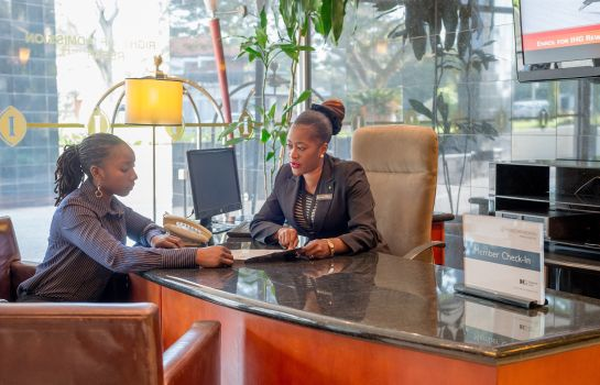 Hol hotelowy InterContinental Hotels LUSAKA