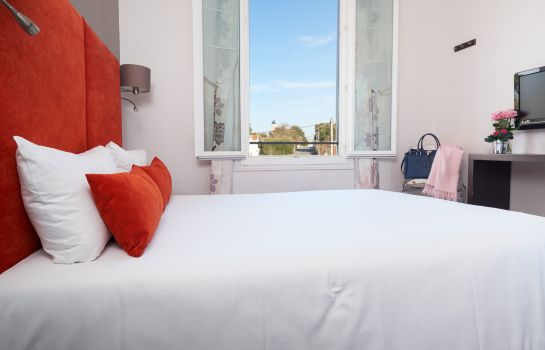 Doppelzimmer Standard The Originals Boutique, Hôtel La Villa Ouest & Spa, Royan Plage The Originals Boutique, Hôtel La Villa Ouest & Spa, Royan Plage