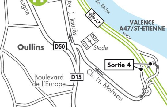 info CAMPANILE LYON SUD - Confluence - Oullins