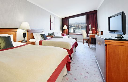 Room InterContinental Hotels BUDAPEST