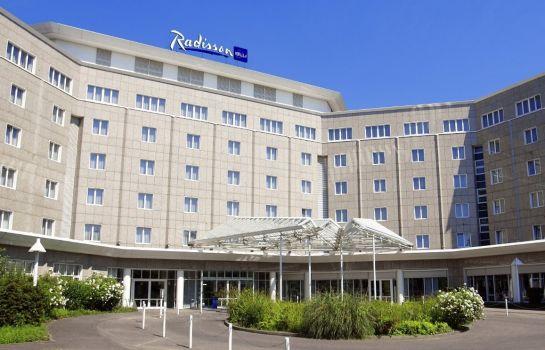 Exterior View Radisson Blu Hotel Dortmund