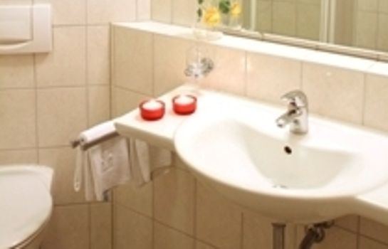 Bagno in camera Hotel Der Stockinger