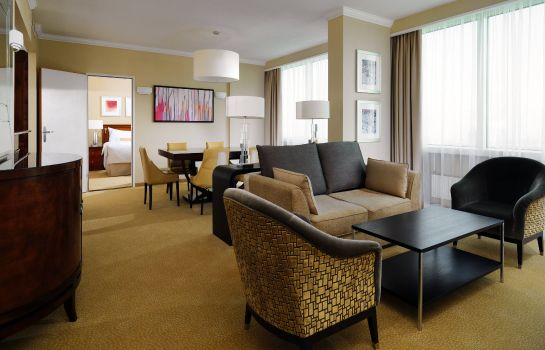 Suite Warsaw Marriott Hotel