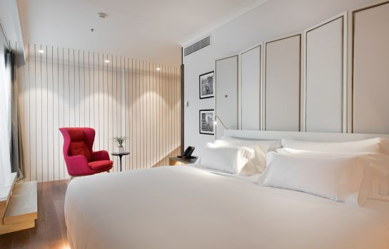 Junior suite NH Collection Madrid Eurobuilding