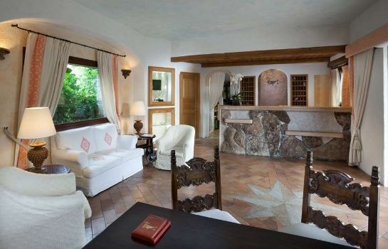 Hotelhalle Costa Smeralda  a Luxury Collection Hotel Hotel Pitrizza