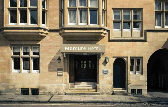 Exterior view Mercure Oxford Eastgate Hotel