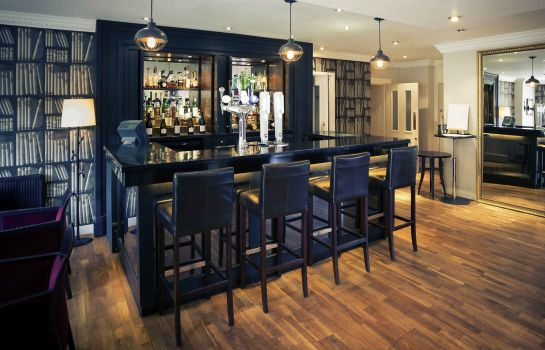 Hotel bar Mercure Oxford Eastgate Hotel