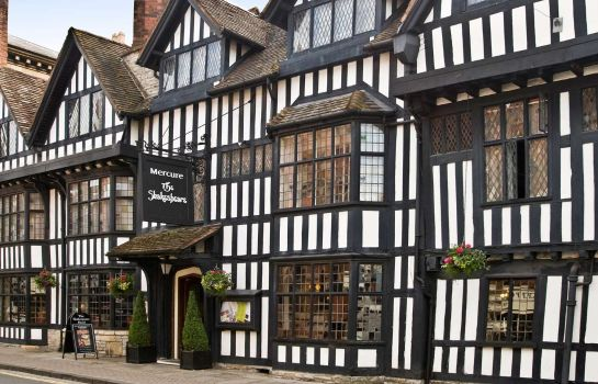 Exterior view Mercure Stratford upon Avon Shakespeare Hotel