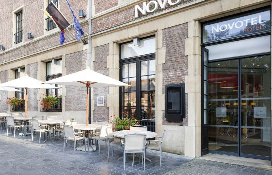 Buitenaanzicht Novotel Brussels off Grand Place