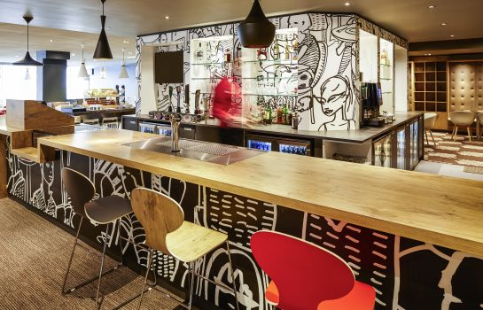 Hotel bar ibis London Heathrow Airport