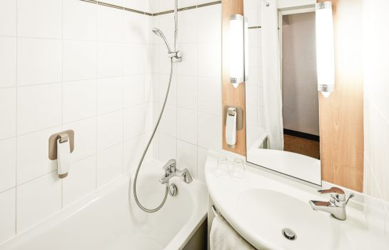 Bagno in camera ibis London Heathrow Airport