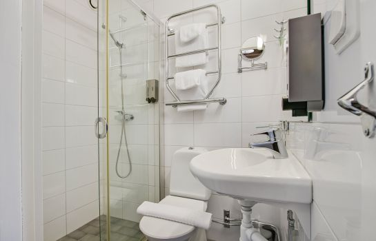 Bagno in camera First Hotel Brommaplan