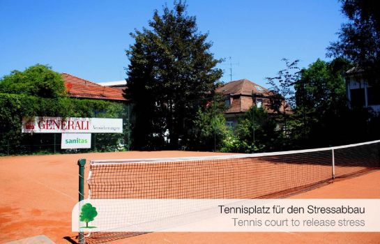 Tennisplatz Engimatt City-Gardenhotel