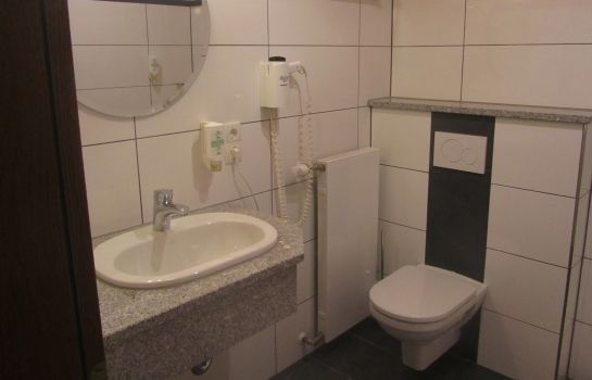 Bagno in camera Land-gut-Hotel Zur Burg
