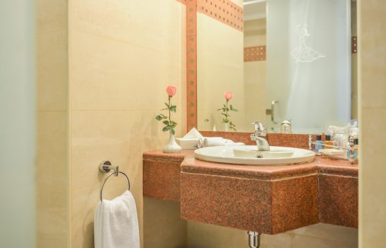 Bagno in camera Golden Tulip Flamenco Cairo