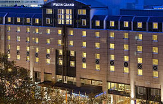 Exterior view The Westin Grand Frankfurt