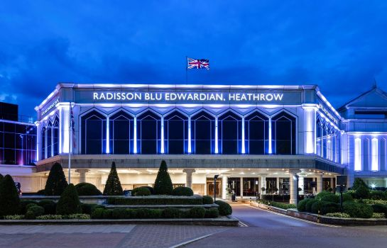 Vista esterna Radisson Blu Edwardian Heathrow Hotel