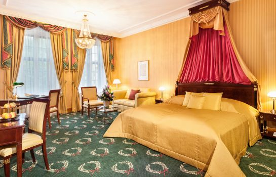 Suite junior Best Western Premier Grand Hotel Russischer Hof
