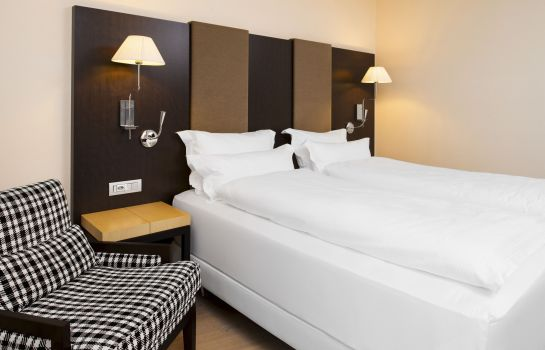 Chambre double (standard) NH Geneva Airport