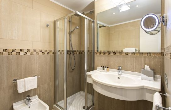 Bagno in camera Hotel Indigo VERONA - GRAND HOTEL DES ARTS