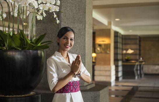 Vestíbulo del hotel InterContinental Hotels BALI RESORT