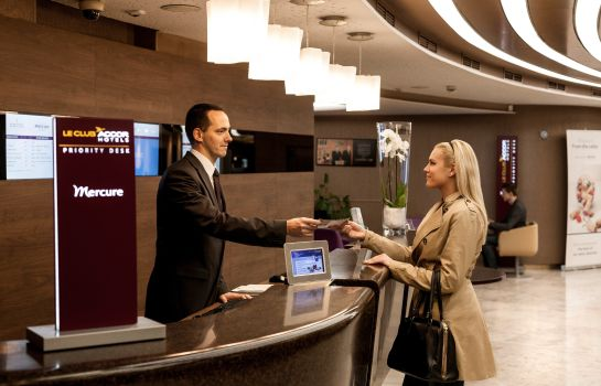 Empfang Mercure Budapest City Center Hotel