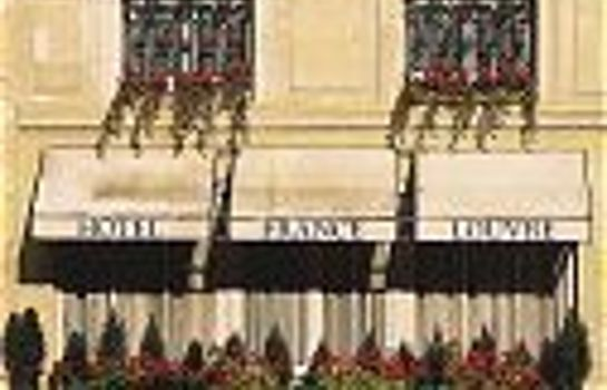 Exterior view France Louvre Hotel