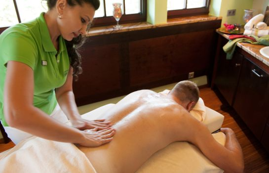 Massageraum Birkenhof Wellnesshotel