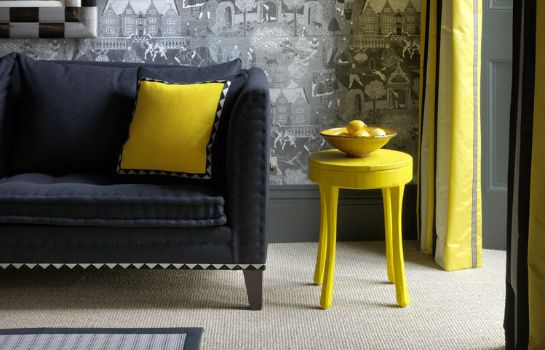Reading room Firmdale Hotels Number Sixteen Hotel