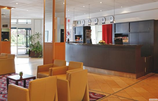 Reception H+ Hotel Brühl