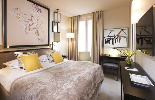 Einzelzimmer Standard Hotel Balmoral Champs-Elysees