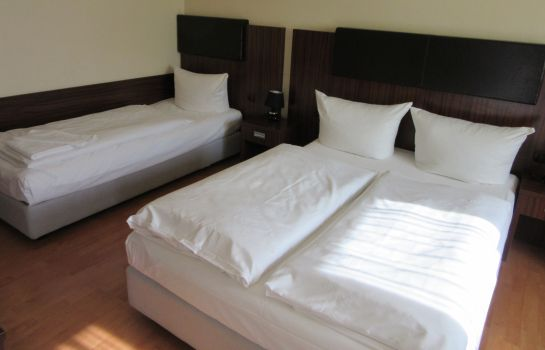 Chambre triple City Hotel Mercator