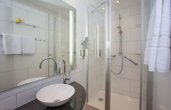 Bagno in camera BLOCK Hotel & Living