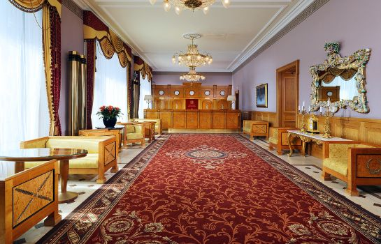 Empfang Hotel National a Luxury Collection Hotel Moscow