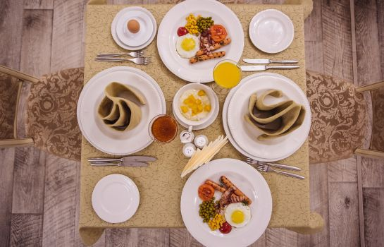 Breakfast buffet Grand Hotel OKA Business