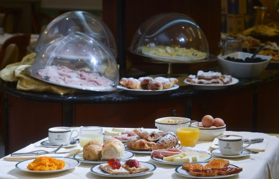 Breakfast buffet Zanhotel Europa