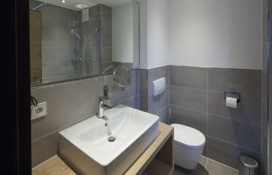 Badezimmer Gams Boutiquehotel