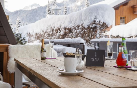 Terrasse Gams Boutiquehotel