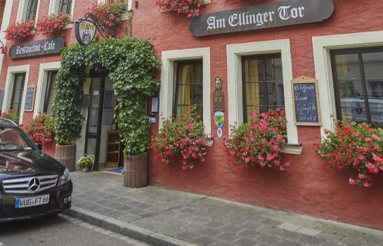Exterior view Am Ellinger Tor Flair Hotel