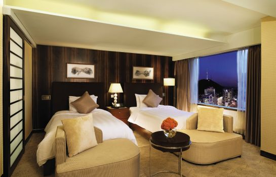 Double room (standard) Lotte Hotel Seoul