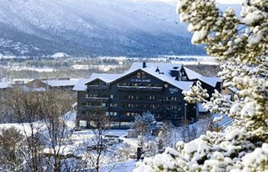 Exterior view Highland Lodge
