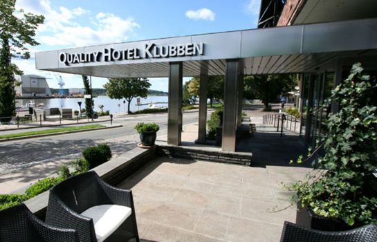Exterior view Quality Hotel Klubben