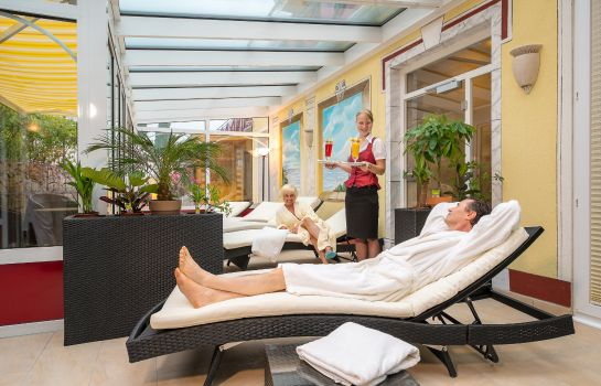 Ruhebereich Wellness Privathotel Post an der Therme