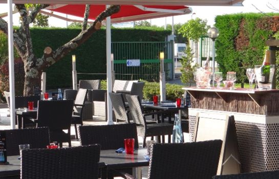 Terrasse Bordeaux Mérignac  Hôtel du Phare The Originals City (ex Inter-Hotel)