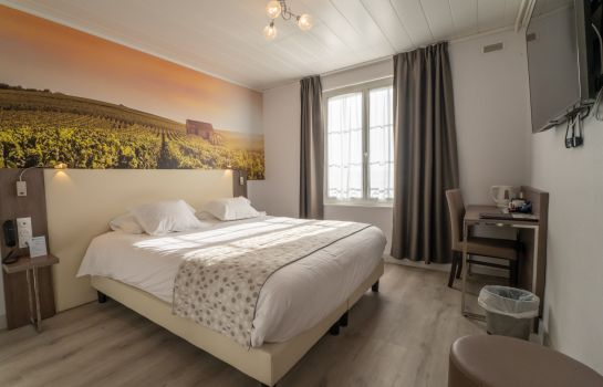 Chambre double (confort) Best Western Hotel Ile De France