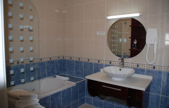 Bagno in camera INTER-HOTEL Montrichard Le Bellevue